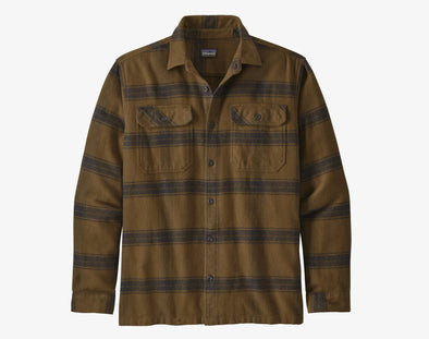 Patagonia Men's Long Sleeve Fjord Flannel - Idaho Mountain Touring