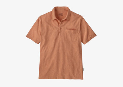 Men's Organic Cotton Lightweight Polo - Idaho Mountain Touring