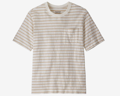 Men's Organic Cotton Midweight Pocket Tee - Idaho Mountain Touring