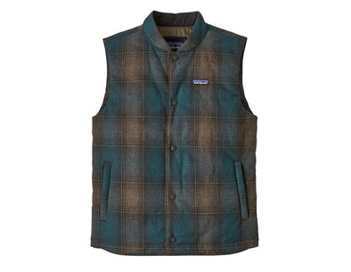 Men's Recycled Wool Vest - Idaho Mountain Touring