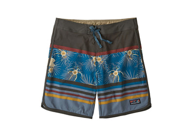 "Men's Scallop Hem Stretch Wavefarer Boardshorts - 18"" - Idaho Mountain Touring"