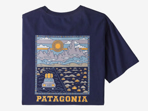 Patagonia Men's Summit Road Organic T-Shirt - Idaho Mountain Touring
