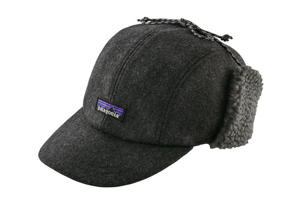 Patagonia Recycled Wool Ear Flap Cap - Idaho Mountain Touring