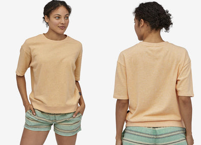 Women's Organic Cotton French Terry Top