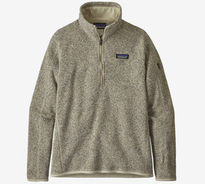 Patagonia Women's Better Sweater ¼ Zip Jacket - Idaho Mountain Touring