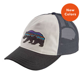 Patagonia Women's Fitz Roy Bear Layback Trucker Hat - Idaho Mountain Touring