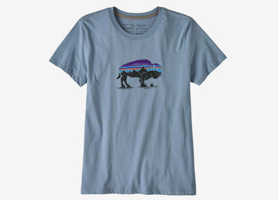 Women's Fitz Roy Bison Organic Crew - Idaho Mountain Touring