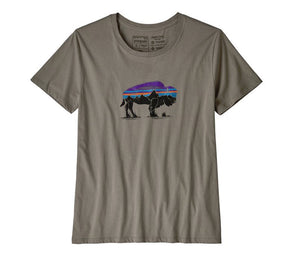 Patagonia Women's Fitz Roy Bison Organic Crew - Idaho Mountain Touring