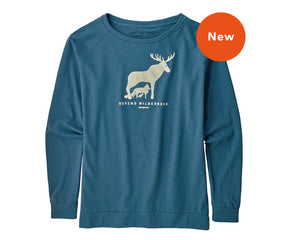 Women's Long Sleeve Defend Wilderness Responsibili-Tee