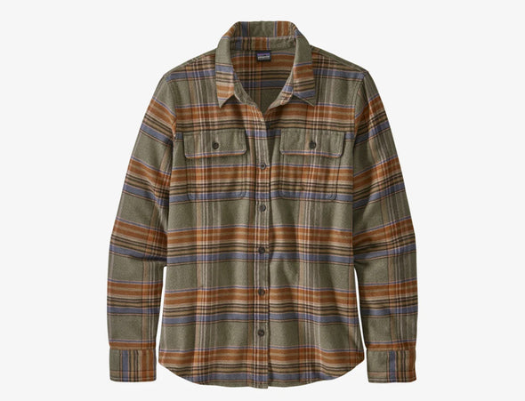 Women's Long Sleeve Fjord Flannel Shirt