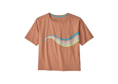 Women's Psychedelic Slider Organic Cotton Easy-Cut Tee