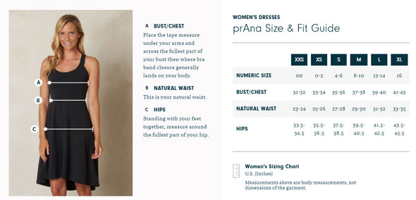 Prana Women's Deryn Dress - Idaho Mountain Touring