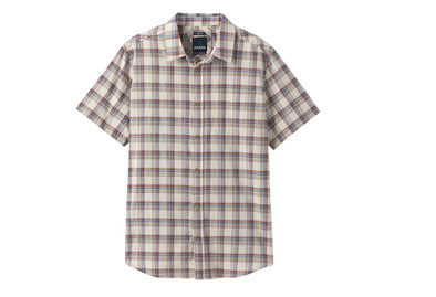 Prana Men's Bryner Button Front Short Sleeve Shirt - Idaho Mountain Touring