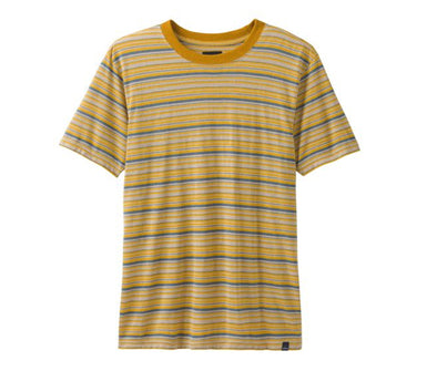 Prana Men's Dustin Short Sleeve Crew - Idaho Mountain Touring