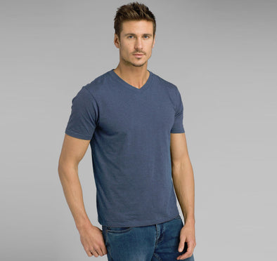 Prana Men's Organic V-Neck Tee - Idaho Mountain Touring