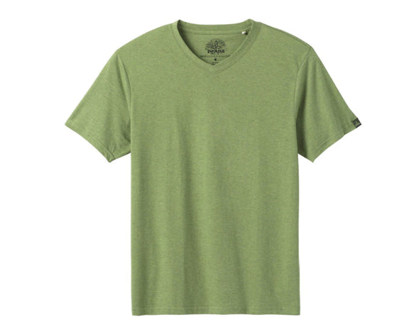 Men's Organic V-Neck Tee - Idaho Mountain Touring