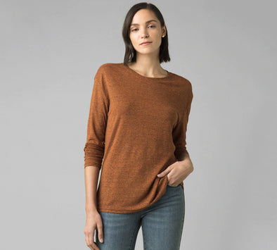 Prana Women's Cozy Up Long Sleeve Tee - Idaho Mountain Touring