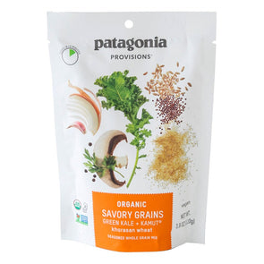 Patagonia Provisions Organic Green Kale + KAMUT Khorasan Wheat Savory Grains - Idaho Mountain Touring