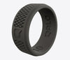 QALO Men's Crosshatch Q2X Silicone Ring - Idaho Mountain Touring
