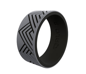 QALO Men's Strata Mountain Silicone Ring - Idaho Mountain Touring