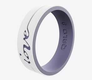 QALO Women's Strata Love Silicone Ring - Idaho Mountain Touring