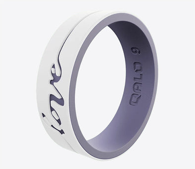 Women's Strata Love Silicone Ring