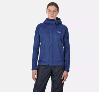 Women's Downpour Lightweight Waterproof Jacket - Idaho Mountain Touring