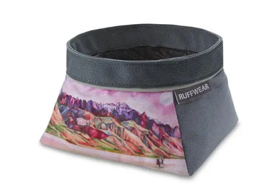 Ruffwear Artist Series Quencher Dog Bowl - Idaho Mountain Touring