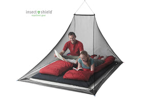 Mosquito Pyramid Net Shelter with Insect Shield - Idaho Mountain Touring