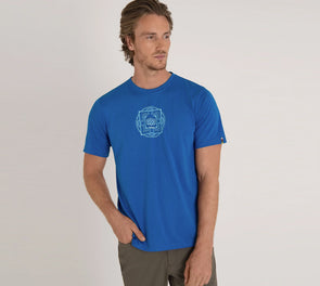 Sherpa Adventure Gear Men's Mandal drirelease Tee - Idaho Mountain Touring