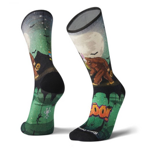 Smartwool Boo! Print Crew Socks - Idaho Mountain Touring