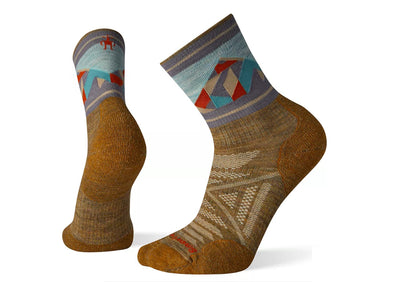 Men's PhD Outdoor Light Pattern Mid Crew Sock - Idaho Mountain Touring