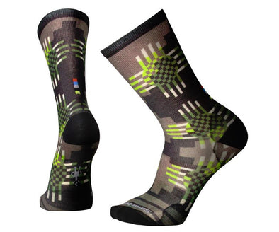 Men's Wave Geo Curated Crew Socks - Idaho Mountain Touring