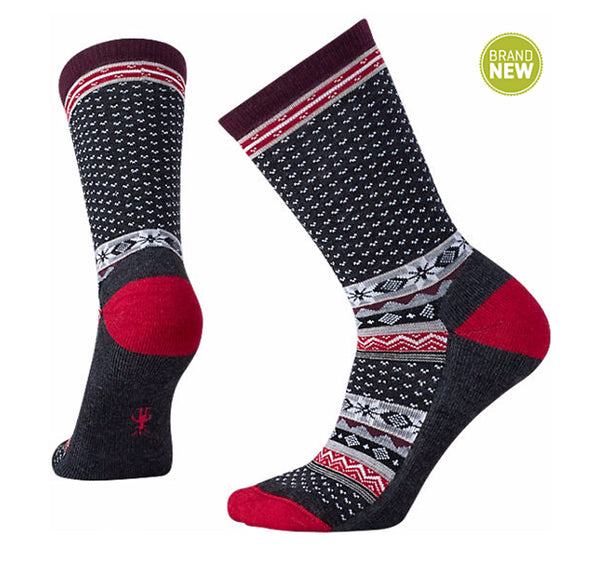 Smartwool Women's Cozy Cabin Crew Sock - Idaho Mountain Touring