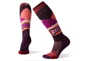 Smartwool Women's PhD Ski Light Elite Pattern Sock - Idaho Mountain Touring