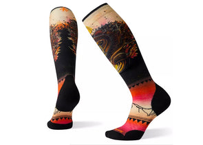 Smartwool Women's PhD Ski Light Elite Print Sock - Idaho Mountain Touring