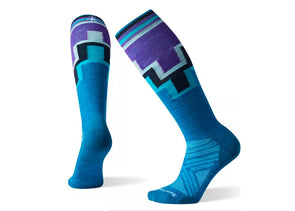 Smartwool Women's PhD Ski Ultra Light Pattern Sock - Idaho Mountain Touring