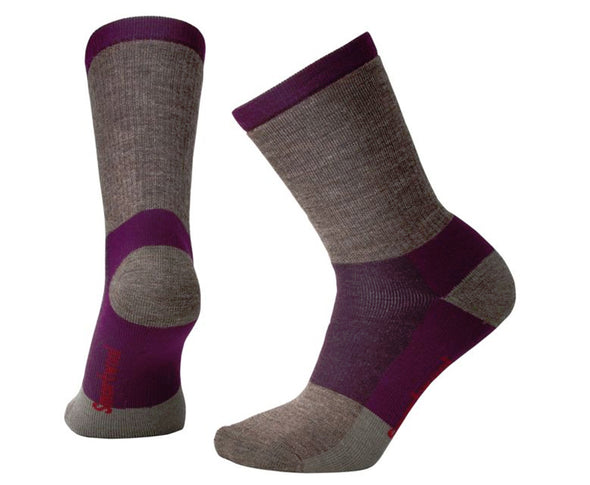 Smartwool Women's Stripe Hike Medium Crew - Idaho Mountain Touring