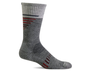 Sockwell Men's Ascend II Crew Socks - Idaho Mountain Touring