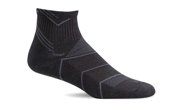Sockwell Men's Incline Quarter Compression Sock - Idaho Mountain Touring