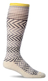 Sockwell Women's Chevron Compression Sock - Idaho Mountain Touring
