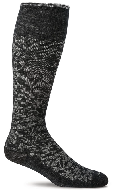 Sockwell Women's Damask Compression Sock - Idaho Mountain Touring