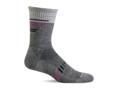 Women's Ascend II Crew Compression Sock - Idaho Mountain Touring