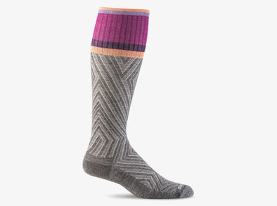 Women's Labyrinth Graduated Compression Socks