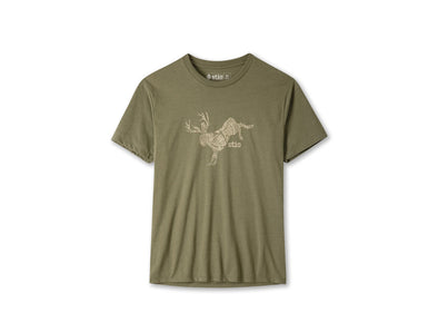Men's Bucking Jackalope Tee - Idaho Mountain Touring