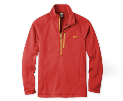 Stio Men's Gannett Peak ½ Zip Fleece - Idaho Mountain Touring