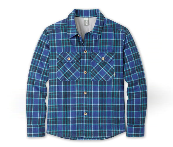 Stio Men's Hutkeeper Flannel Shirt - Idaho Mountain Touring
