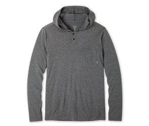 Men's Tipton Tech Hooded Henley - Idaho Mountain Touring