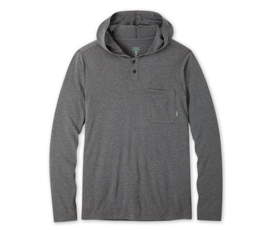 Stio Men's Tipton Tech Hooded Henley - Idaho Mountain Touring