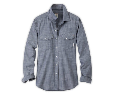Stio Women's Ashton Chambray Shirt - Idaho Mountain Touring